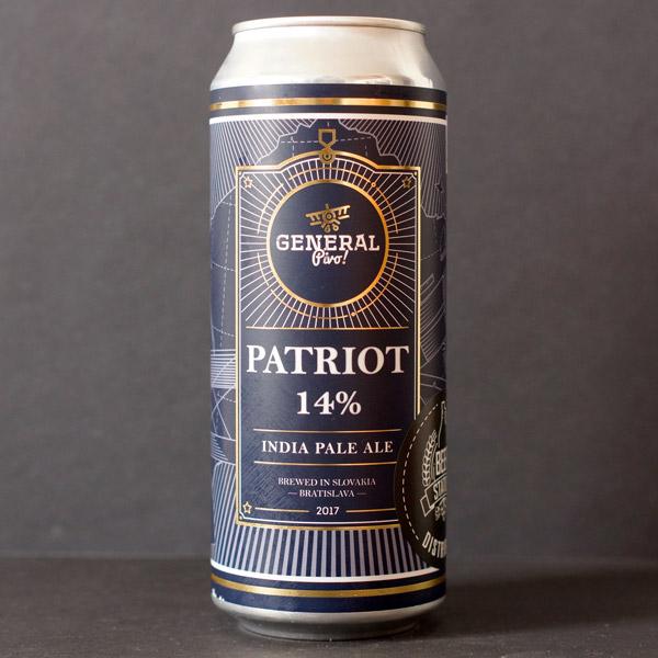 Pivovar General; Patriot 14; IPA; Beer Store; Craft Beer; Distribúcia piva