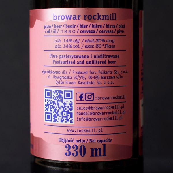 Rockmill; 2nd Anniversary; Craft Beer; Remeselné Pivo; Salon piva; Beer Station; Plechovkové pivo; Imperial Stout; Distribúcia piva; Poľský pivovar; Poľské pivo