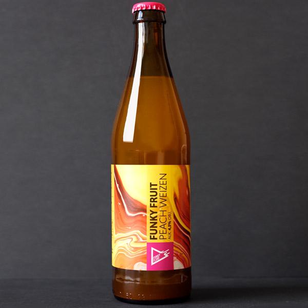 Funky Fluid; Funky Fruit: Peach Weizen; Craft Beer; Remeselné Pivo; Pod vrchnakom; Beer Station; Fľaškové pivo; Fruit Hefeweizen; Distribúcia piva; Poľské pivo