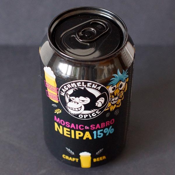 NEIPA 15; Nachmelena Opice; Pivo Nachmelena Opice; Pivo Opica; Distribúcia piva; Sabro; Mosaic; pivo