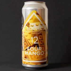 SOUR Mango 12; Zichovec plechovka; Zichovec; Beer Station; pivo e-shop; remeselné pivo; remeselný pivovar; craft beer Bratislava; živé pivo; Sour; pivo
