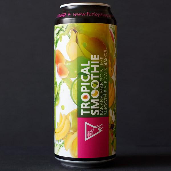 Funky Fluid; Tropical Smoothie Banana Mango Lime; Craft Beer; Remeselné Pivo; Pod vrchnakom; Beer Station; Plechovkové pivo; Smoothie Ale; Distribúcia piva; Poľské pivo