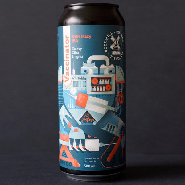 Rockmill; Vaccinator; Craft Beer; Remeselné Pivo; Salon piva; Beer Station; Plechovkové pivo; DDH Hazy IPA; New England IPA; Distribúcia piva; Poľský pivovar; Poľské pivo