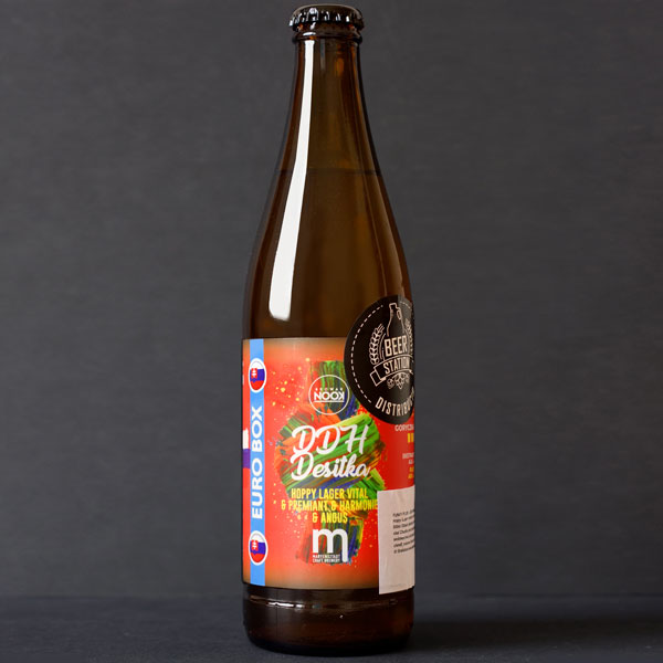 Nook; Maryensztadt; DDH Desítka 10°; Craft Beer; Remeselné Pivo; Pod vrchnakom; Beer Station; Fľaškové pivo; Hoppy Lager; Distribúcia piva; Poľské pivo