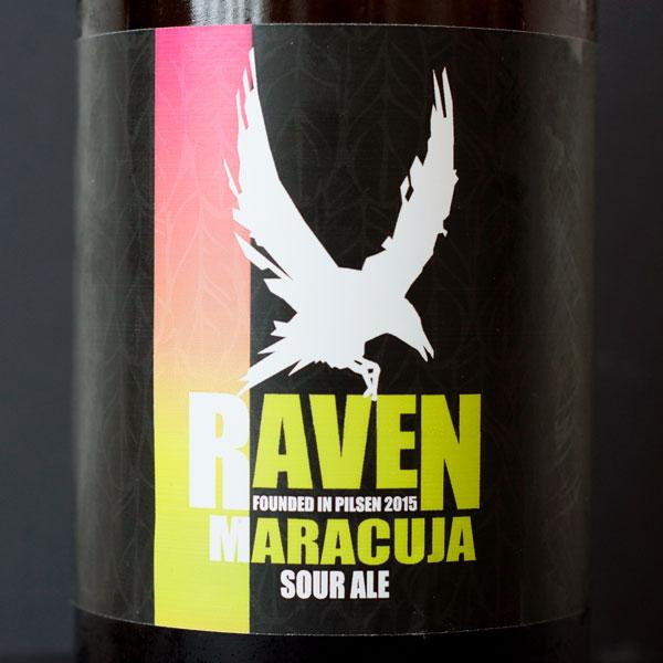Raven; Maracuja Sour 9; Sour Ale; Beer Station; pivo e-shop; remeselné pivo; remeselný pivovar; craft beer Bratislava; živé pivo; pivo; Distribúcia piva