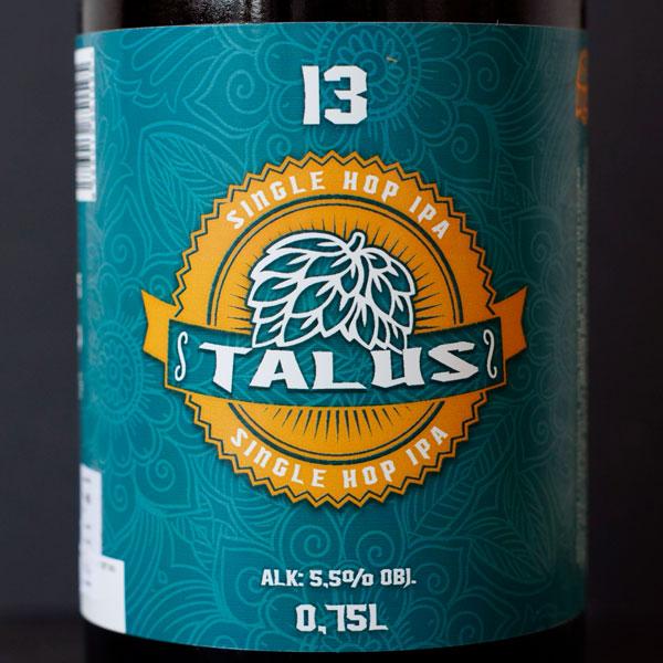 WYWAR; Talus 13°; Craft Beer; Remeselné Pivo; Živé pivo; Beer Station; Fľaškové pivo; IPA; Single Hop