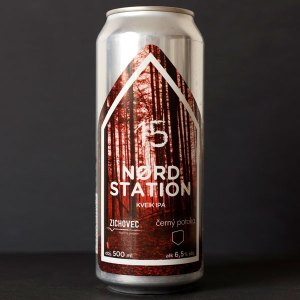 Nord Station 15°; Zichovec plechovka; Zichovec; Beer Station; pivo e-shop; remeselné pivo; remeselný pivovar; craft beer Bratislava; živé pivo; Kveik IPA; pivo