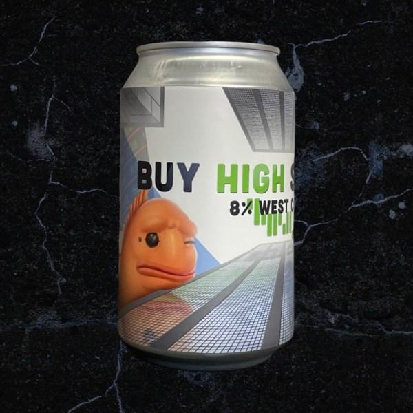 Buy High Sell Low 19°; Lobik plechovka; Lobik; Beer Station; pivo e-shop; remeselné pivo; remeselný pivovar; craft beer Bratislava; živé pivo; West Coast DIPA; pivo