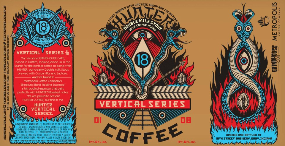 18th Street Brewery Hunter Coffee