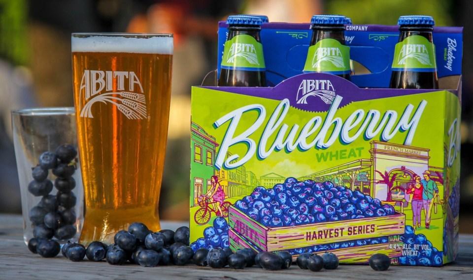 Abita Blueberry Wheat bottles