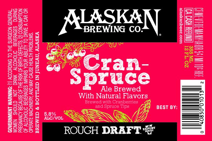 Alaskan Cran-Spruce Ale