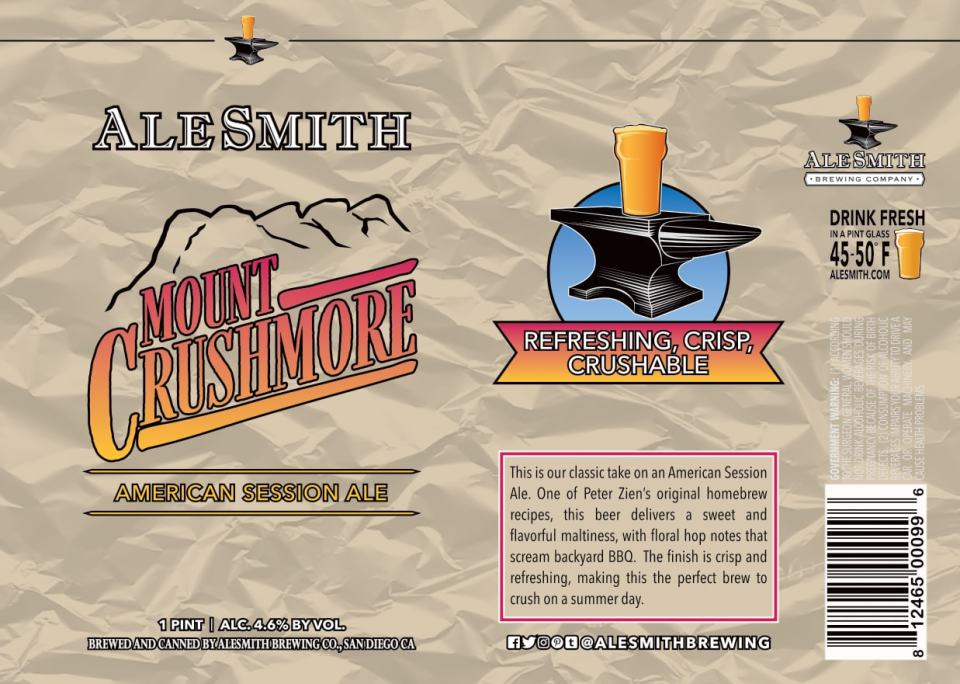 AleSmith Mount Crushmore