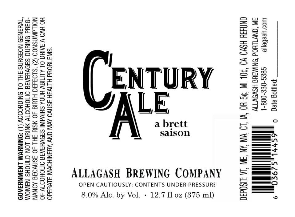 Allagash Century Ale