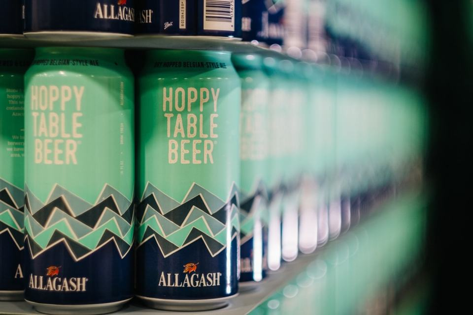 Allagash Hoppy Table Beer Cans