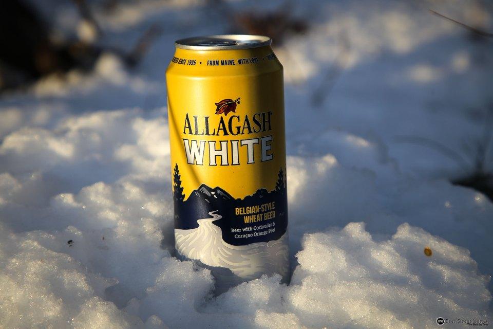 Allagash White Can