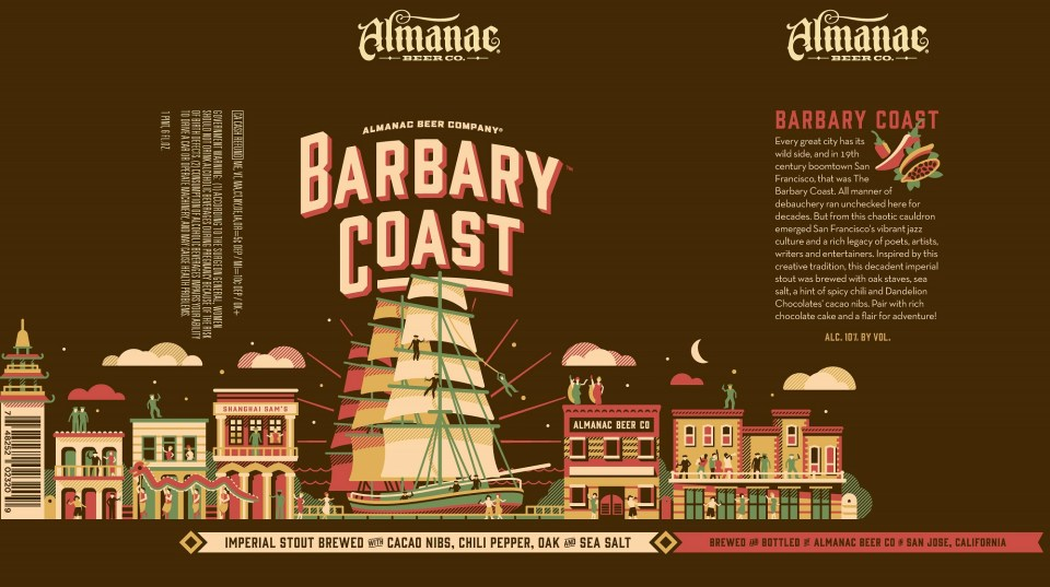 Almanac Barbary Coast