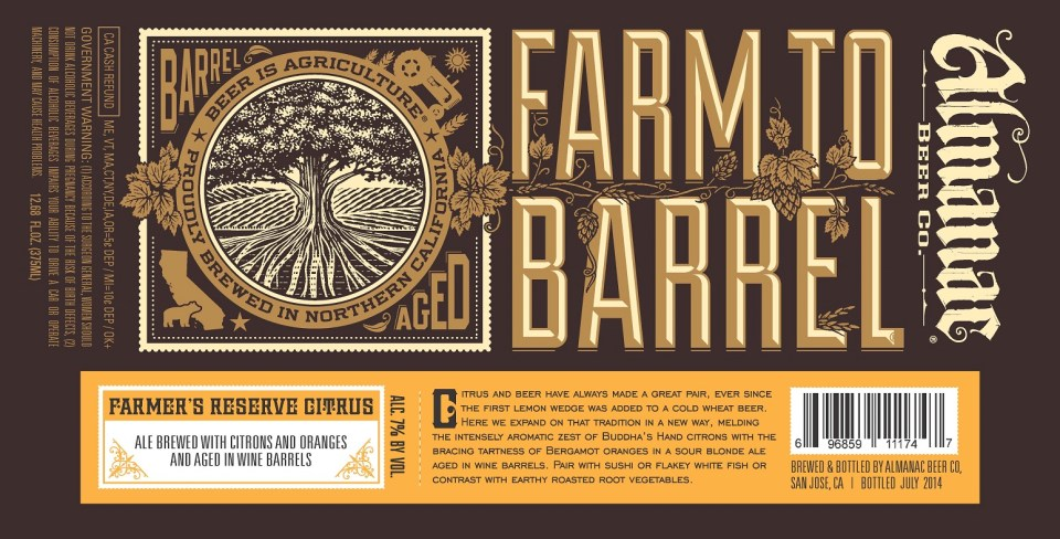 Almanac Farm to Barrel Citrus