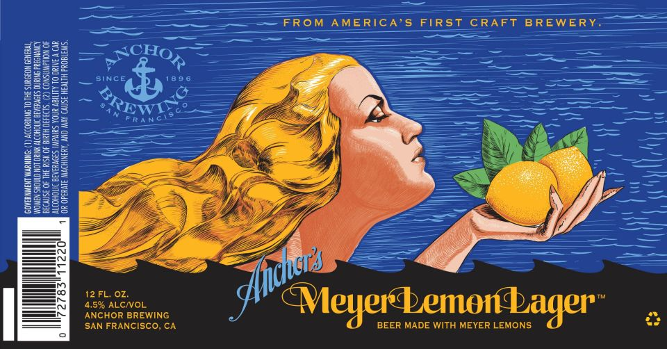 Anchor Meyer Lemon Lager