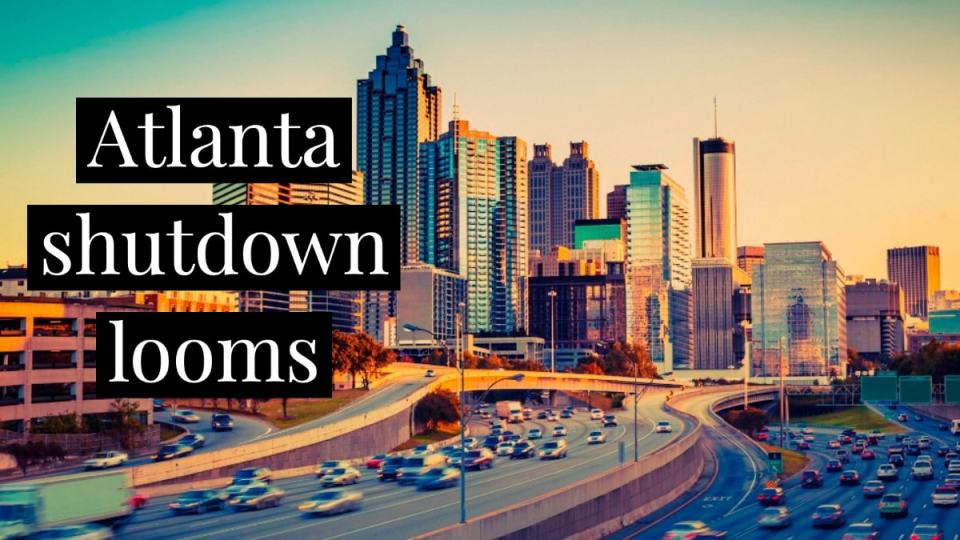 Atlanta Potential Shutdown Header