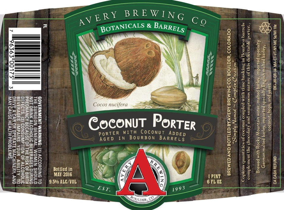 Avery Coconut Porter