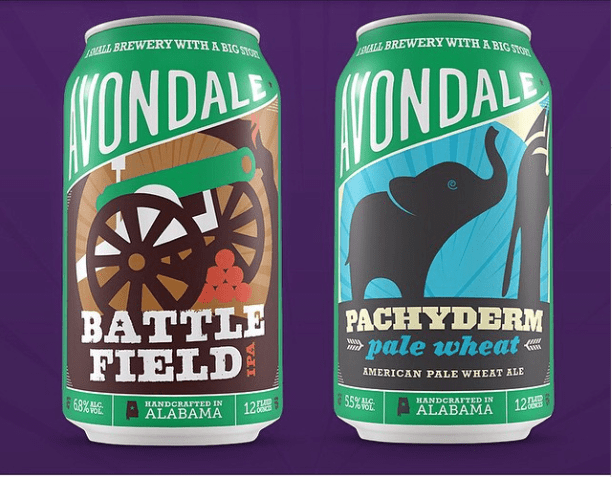 Avondale Brewing Cans