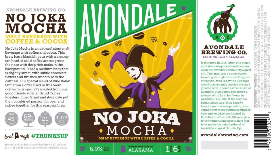 Avondale Brewing No Joka Mocha