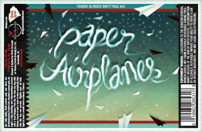 BIrds Fly South Paper Airplanes