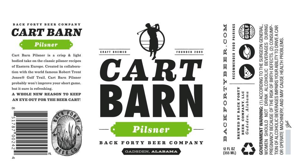 Back Forty Cart Barn Pilsner