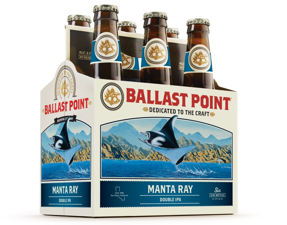 Ballast Point Manta Ray 6pack