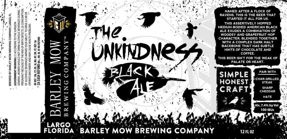 Barley Mow Brewing The Unkindness