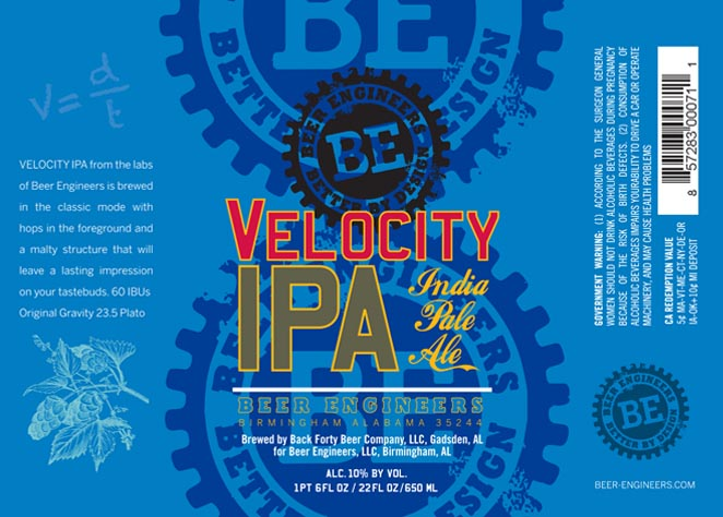 Beer Engineers Velocity IPA