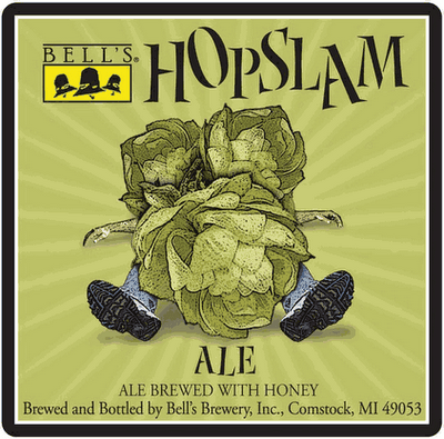 Bells Hopslam Label