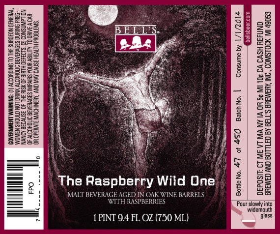 Bells The Raspberry Wild One