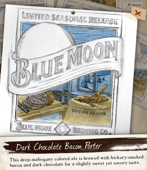 Blue Moon Choco Bacon