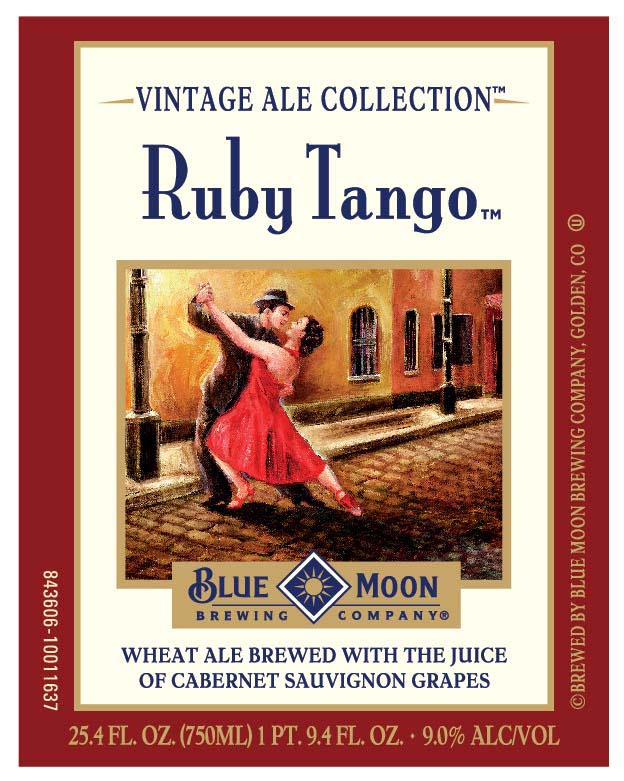 Blue Moon Ruby Tango Front