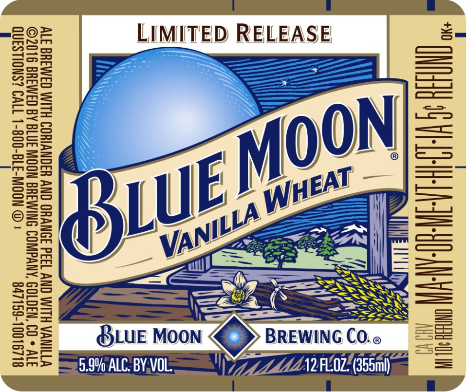 Blue Moon Vanilla Wheat
