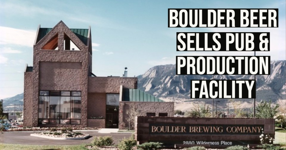 Boulder Beer Pub Sale