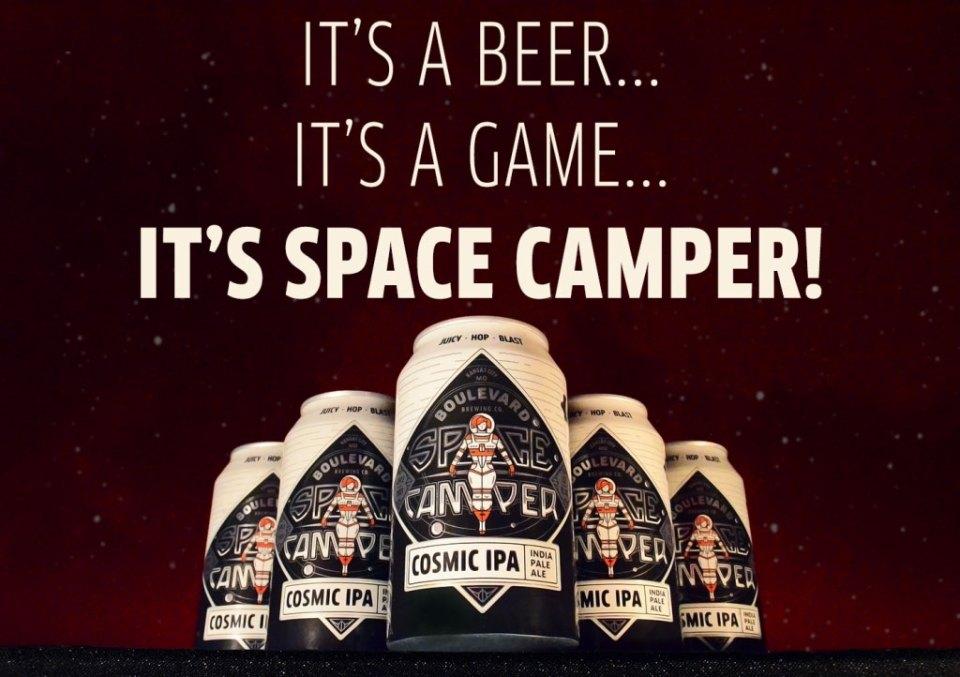 Boulevard Space Camper IPA Promo