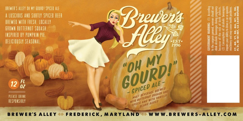 Brewer's Alley Oh My Gourd