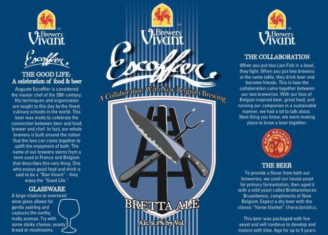 Brewery Vivant Bretta Ale