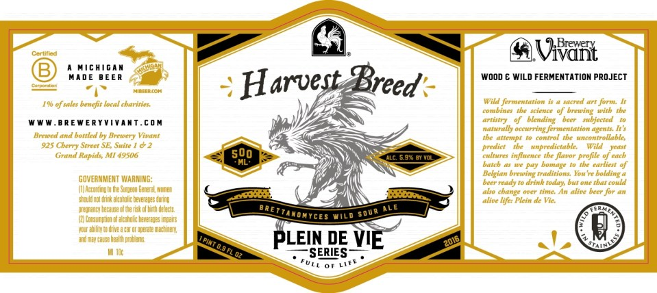 Brewery Vivant Harvest Breed