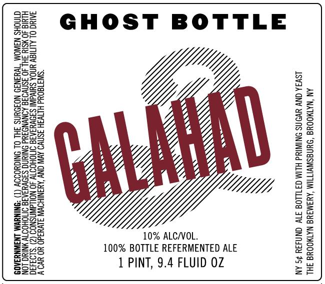 Brooklyn Ghost Bottle Gaålahad