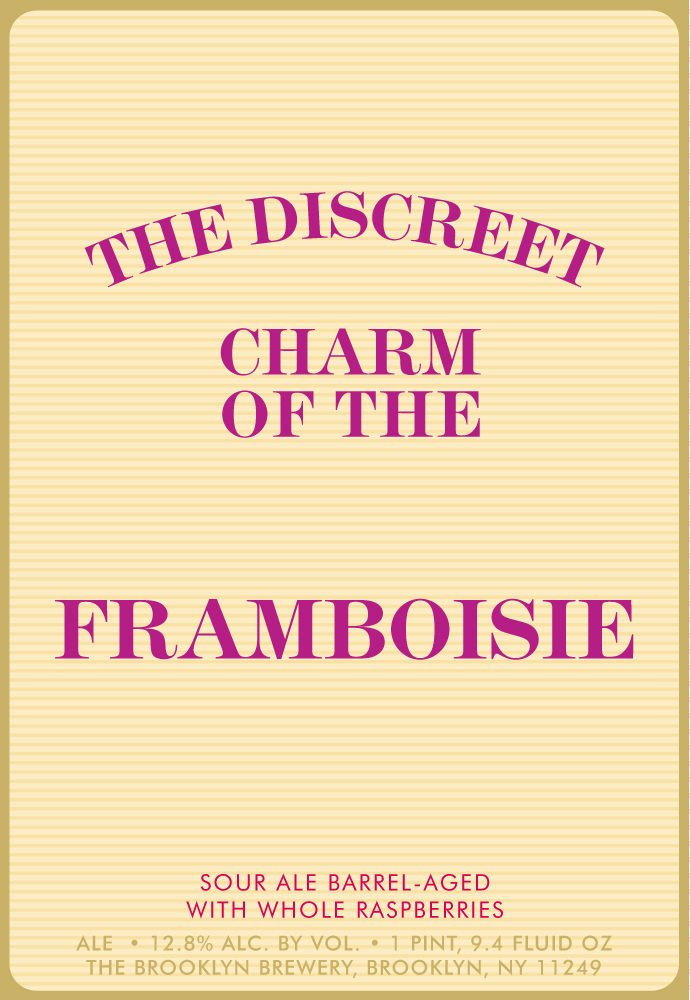 Brooklyn The Discreet Charm of the Framboise