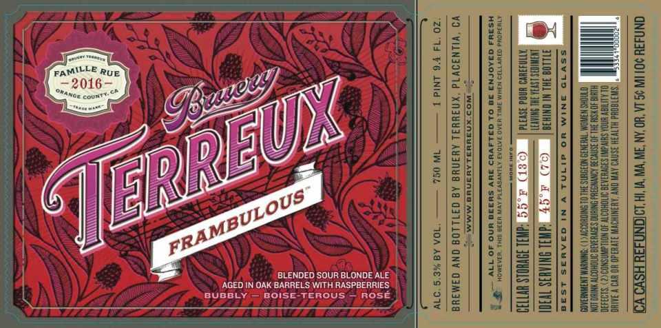 Bruery Terreux Frambulous