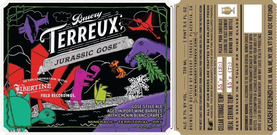 Bruery Terreux Jurassic Gose