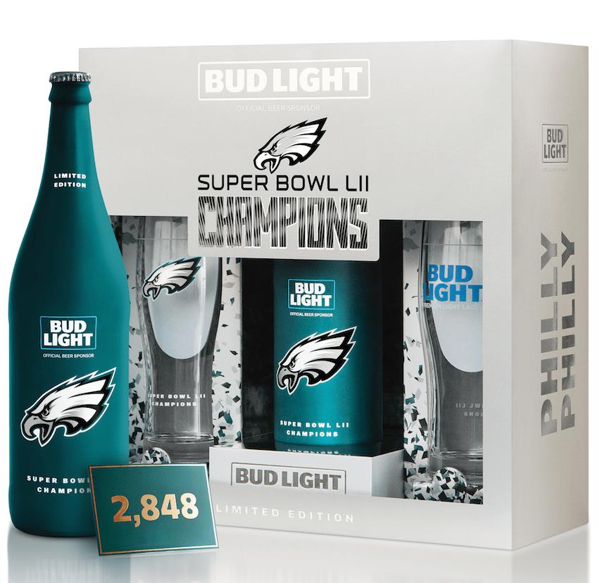 Bud Light Philadelphia Eagles Set