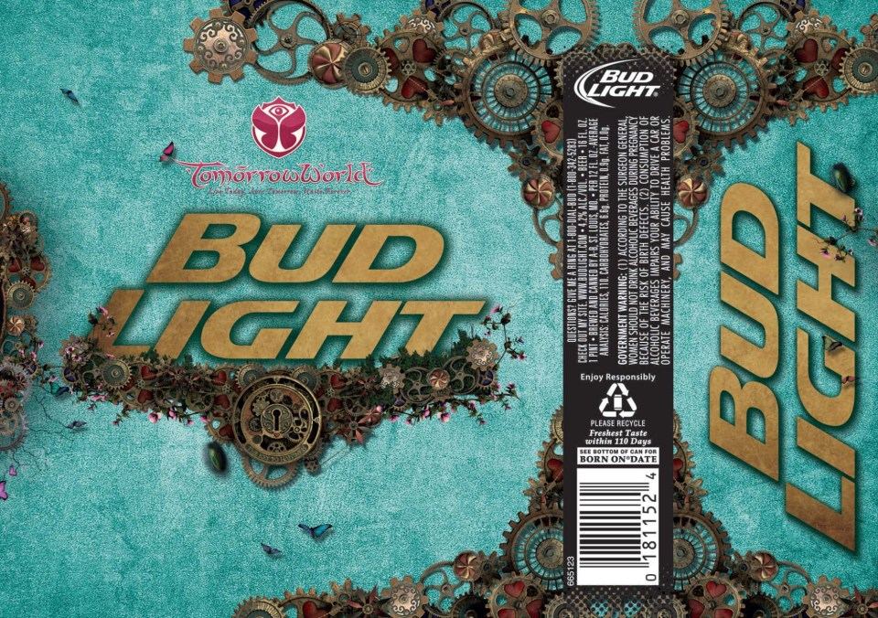 Bud Light Tomorrow World Cans