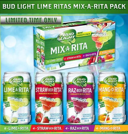 Bud Light U201cRitau201d Mix Packs Awesome Ideas