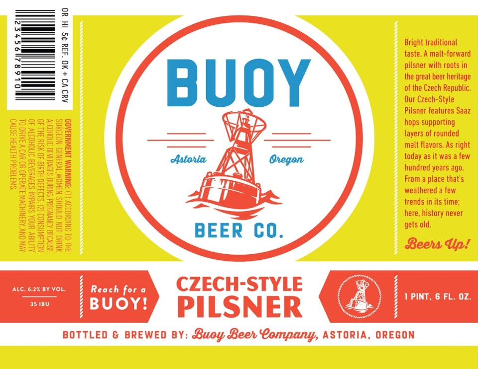 Buoy Beer Co. Czech-style Pilsner