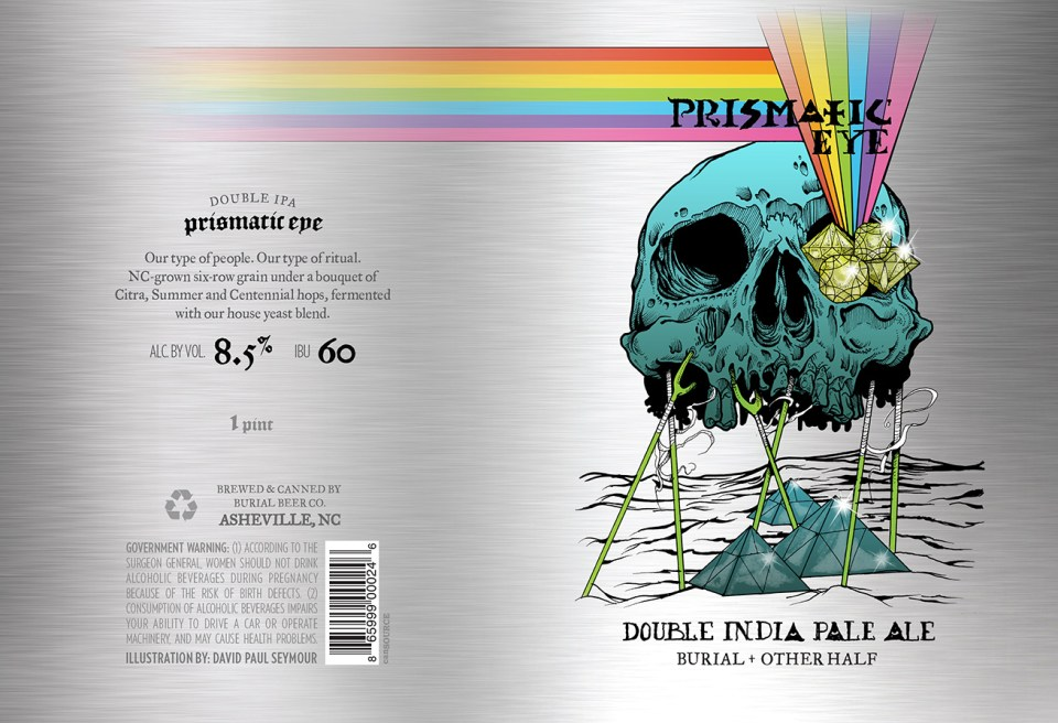 Burial Beer Prismatic Eye